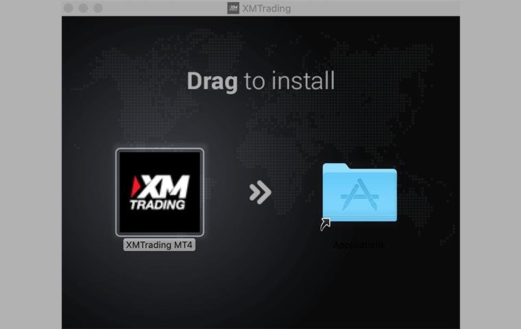 XMのMT4のアプリ