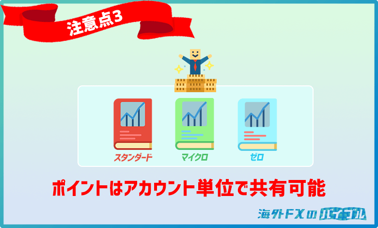 XMロイヤリティプログラムのポイントはアカウント単位で共有可能