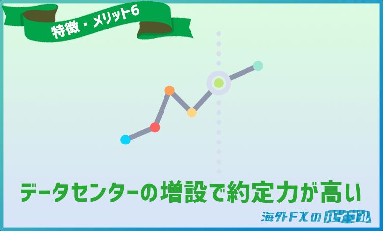 LANDFX(ランドFX)はデータセンターの増設で高い約定力を実現