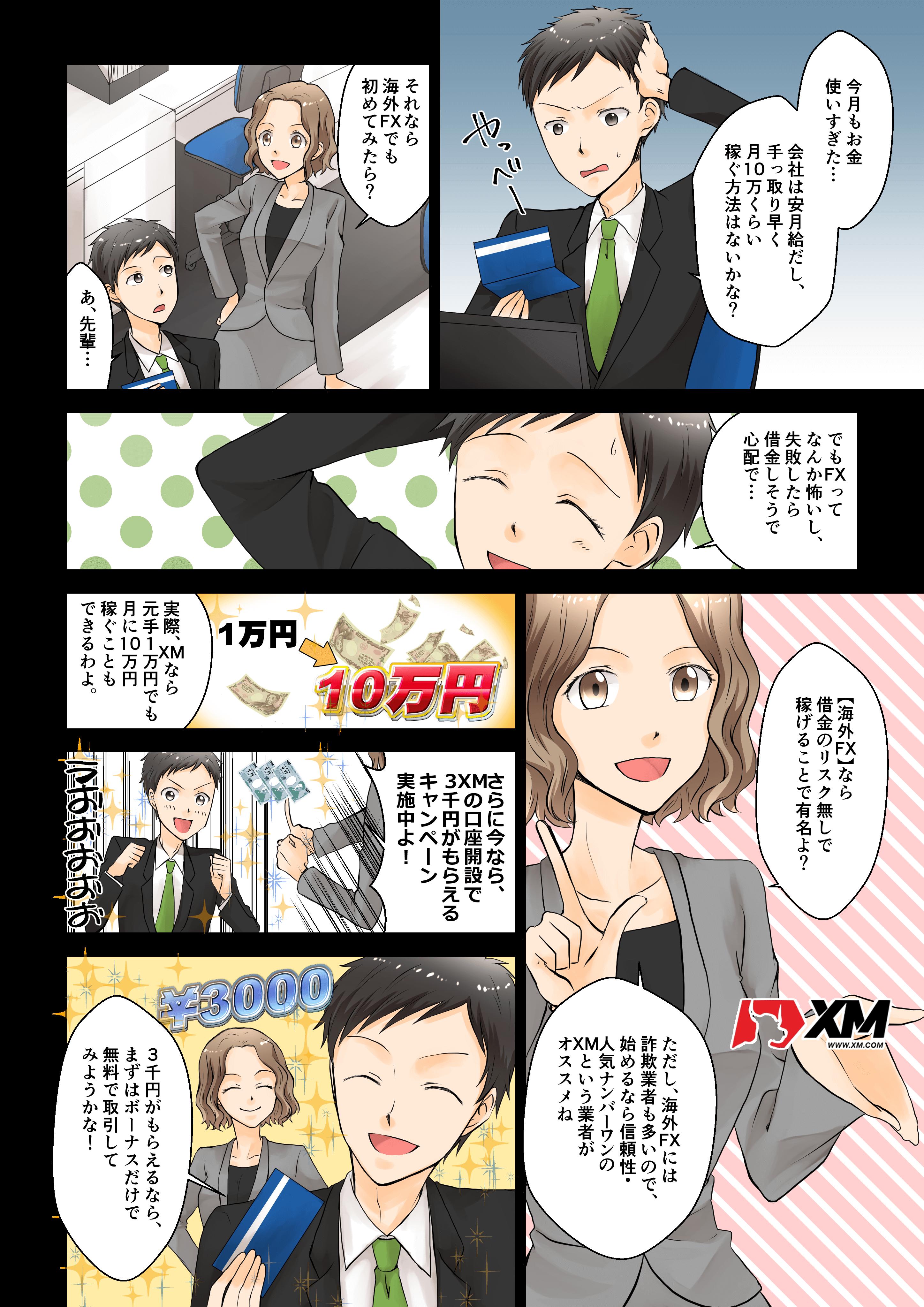 XM ボーナスキャンペーン お得